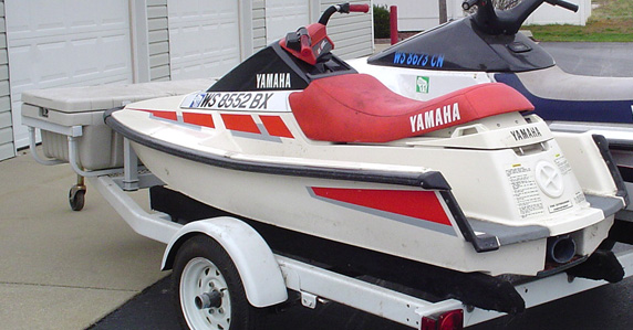 1989 yamaha wave runner