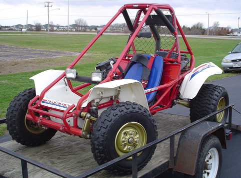 1990 honda dune buggy for Small honda motors for sale