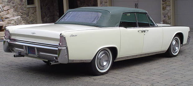 1965 lincoln continental 4dr convertible. Black Bedroom Furniture Sets. Home Design Ideas