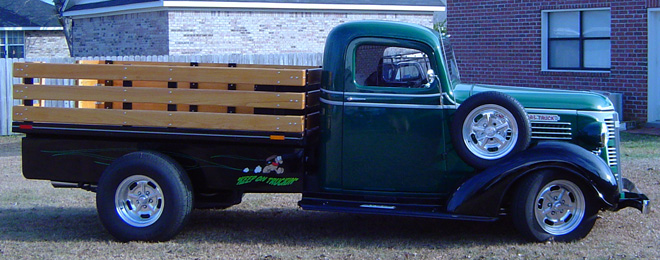1937 GMC 1/2 Ton Stakeside Pickup