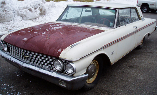 62 galaxie for sale