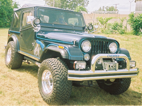 1976 Chrysler Jeep CJ7