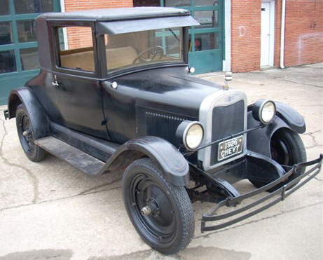1926 Chevy 3-W Coupe E Series