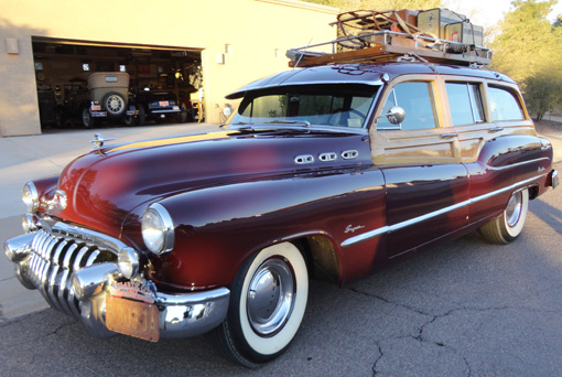 1950 Buick Woodie Estate Wagon