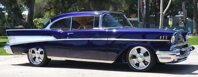 1957 Chevy Bel Air 2Dr HT Pro-Touring