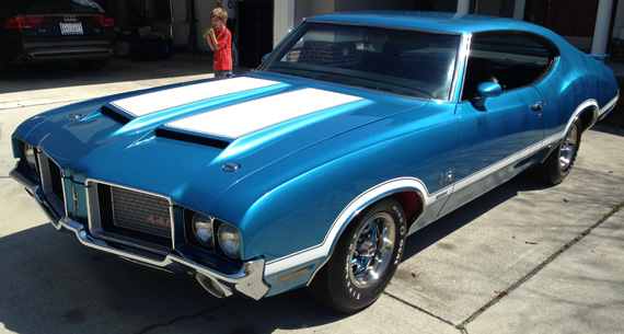 Classic Muscle Cars For Sale >> 1972 Oldsmobile 442 W-30