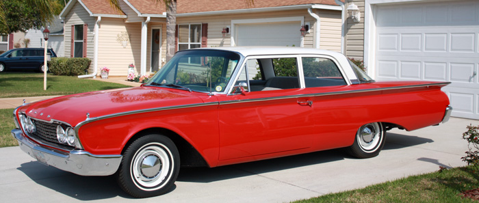 Find used 1960 Ford Fairlane 2 Door Club Coupe in Independence ...