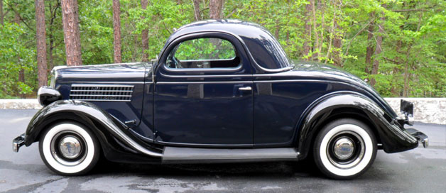 1935 ford 3 window coupe for 1935 ford three window coupe