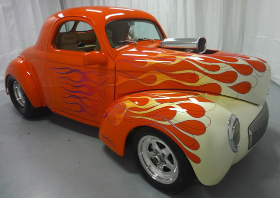 1941 Willys 2Dr Coupe