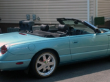2002 Ford T-Bird Convertible