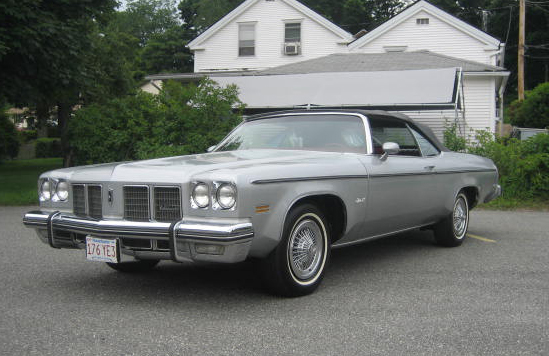 1975 Olds Delta 88 Royale Convertible