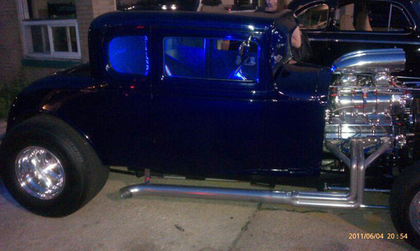1931 Chevy 5 W Coupe