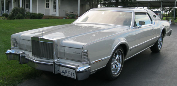 1976 Lincoln Mark IV Cartier Edition