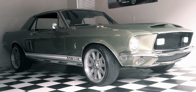 1968 Shelby GT350 Tribute