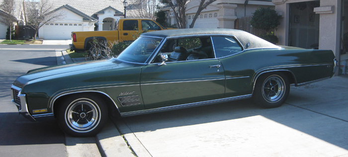 1970 Buick Wildcat 2Dr Coupe