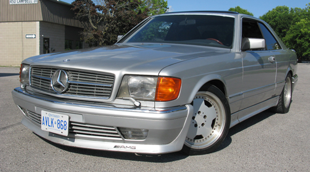 1988 mercedes benz 560 sec amg for Mercedes benz 560 sec amg for sale