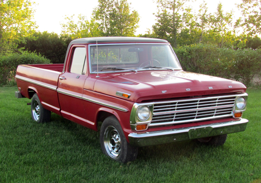 1969 ford pickup f series. Black Bedroom Furniture Sets. Home Design Ideas