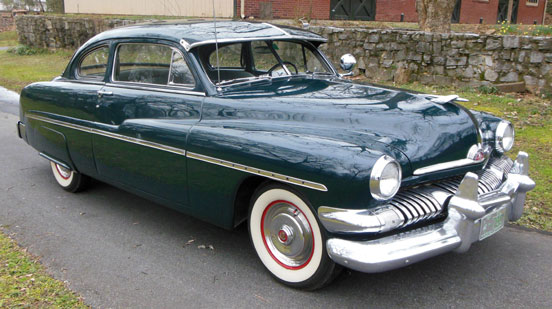 1951 Mercury 2Dr Coupe