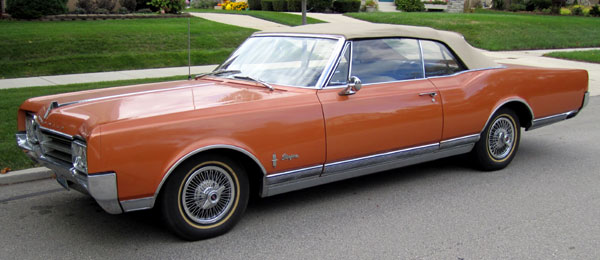 1965 Oldsmobile Starfire Converttible