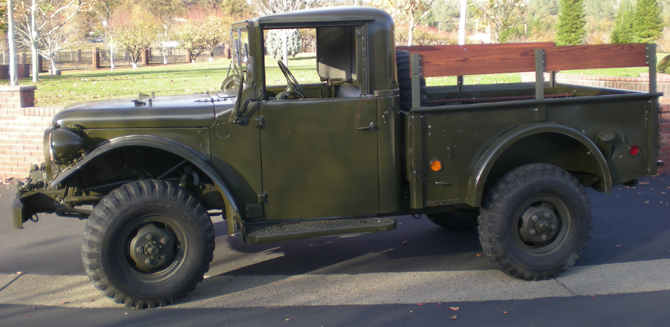 1952 Dodge Weapons Carrier Army