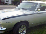 1967 Plymouth Barracuda Fastback