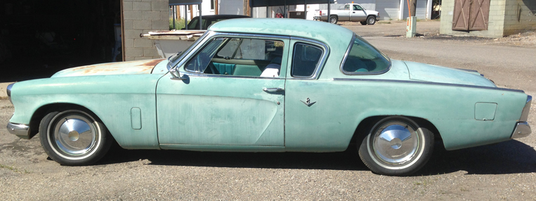 1953 Studebaker 2Dr Coupe Commander