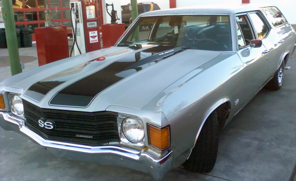 1972 Chevy Nomad Station Wagon