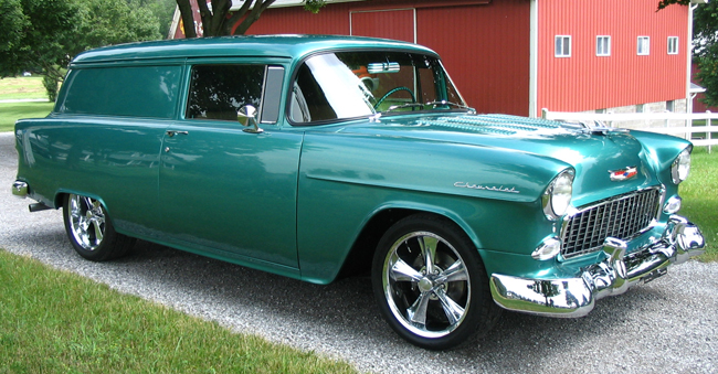 1955 Chevy 150 Sedan Delivery