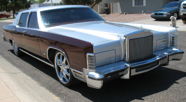 1979 Lincoln Continental Town Car Cars On Line Com Classic Cars