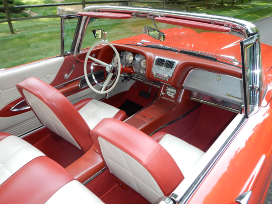 1960 ford thunderbird convertible. Black Bedroom Furniture Sets. Home Design Ideas