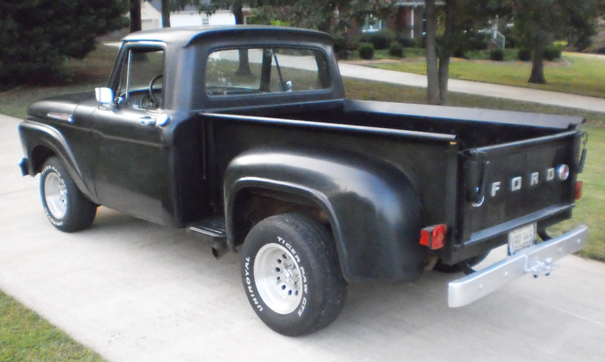 1961 Ford F 100 Stepside Swb