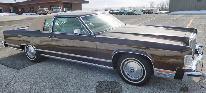 1978 Lincoln Town Car Coupe