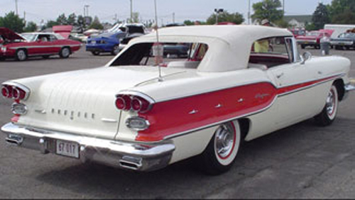 1958 Pontiac  Chieftain Convertible