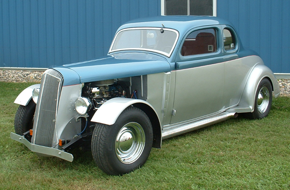 1936 Dodge 5 Window Coupe