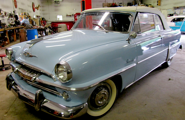 1954 Plymouth Belvedere 2Dr Convertible