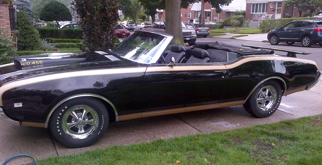 1969 olds cutlass convertible