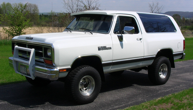 1989 Dodge Ramcharger