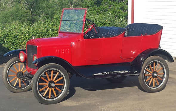 1923 Ford Model T Touring Car : 1923 ford model t touring car - markmcfarlin.com
