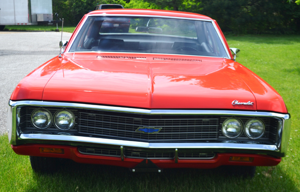 Classic Chevy Mentor >> 1969 Chevy Biscayne 2Dr
