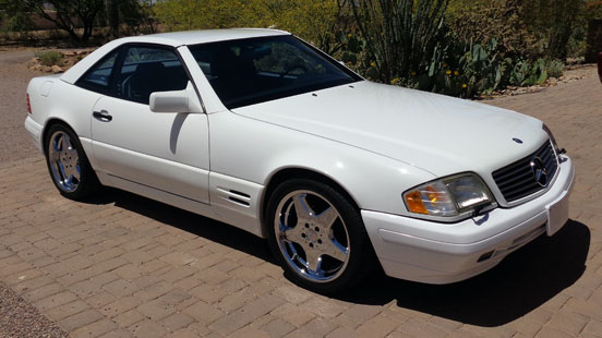 1996 Mercedes SL500 Roadster