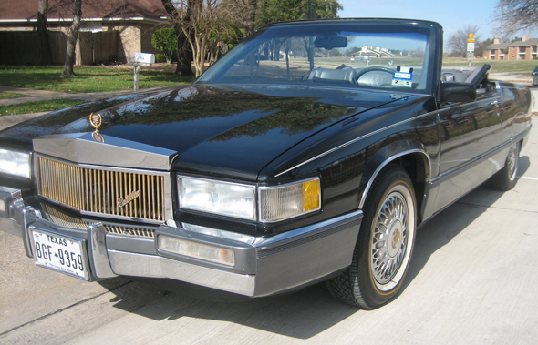 1989 Cadillac Fleetwood Coupe Convertible