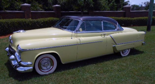 1953 Olds Ninety-Eight Holiday Coupe