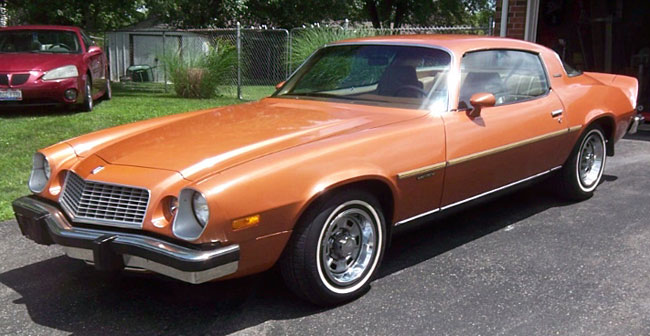Online Car Parts >> 1977 Camaro LT