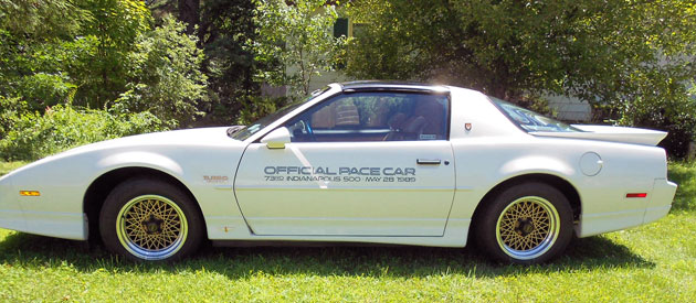 1989 Pontiac Trans Am Indy Pace Car