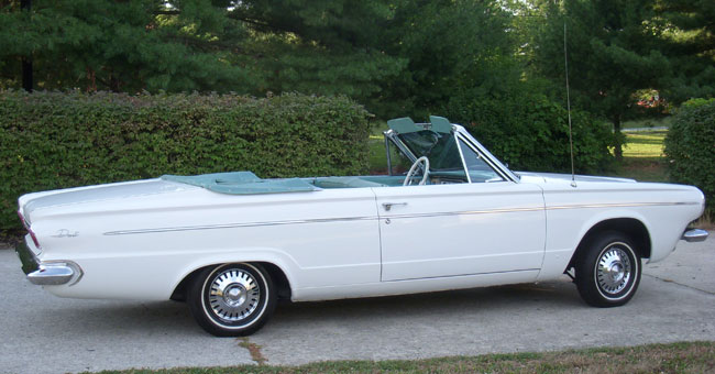 1963 dodge dart convertible. Black Bedroom Furniture Sets. Home Design Ideas