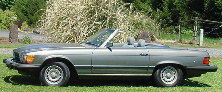 1983 Mercedes-Benz 380 SL Roadster