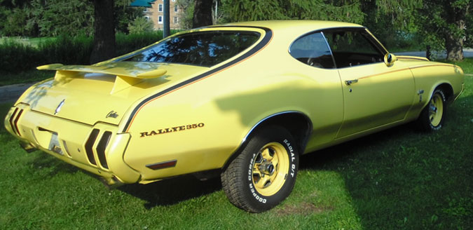 1970 Olds Cutlass Rallye