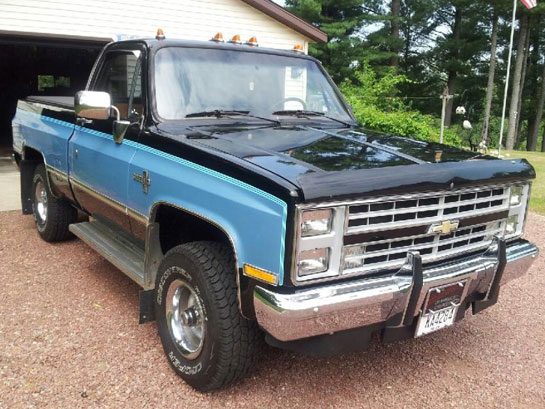1987 chevy silverado 4x4 for sale in wisconsin autos post. Black Bedroom Furniture Sets. Home Design Ideas
