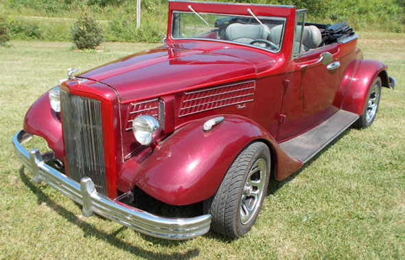1933 Nash Street Rod Convertible