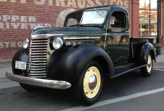 1940 Chevy Truck >> Chevy 1 2 Ton Pickup
